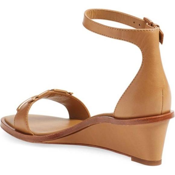 ccf3a4b2f57 Marcia Leather Demi-Wedge Sandal Size 9